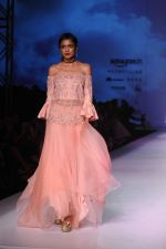 Model walk the ramp for Mandira Wrik_s show at Amazon India Fashion Week on 15th Oct 2016 (15)_580498d56370a.jpg