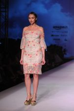 Model walk the ramp for Mandira Wrik_s show at Amazon India Fashion Week on 15th Oct 2016 (18)_580498d94a5c9.jpg