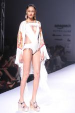 Model walk the ramp for Pria Kataria_s show at Amazon India Fashion Week on 15th Oct 2016 (4)_580498b4b7757.jpg