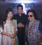 Alka Yagnik, Jeetendra and Bappi Lahiri at Bappi da_s Lakshmi Puja in the Lahiri House_5806255675bbc.jpg