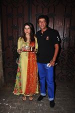 Chunky Pandey celebrate Karva Chauth at Anil Kapoor�s house in Juhu on 19th Oct 2016 (54)_5808700953f70.JPG