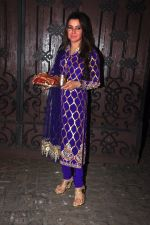 Kehkashan Patel celebrate Karva Chauth at Anil Kapoor�s house in Juhu on 19th Oct 2016 (76)_5808701c24522.JPG
