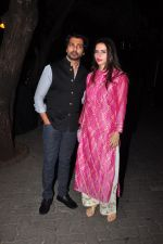 Nikhil Dwivedi celebrate Karva Chauth at Anil Kapoor�s house in Juhu on 19th Oct 2016 (99)_5808703168edb.JPG