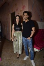 sameer dattani with wife at The all new Sassy Spoon launch on 19th Oct 2016_5808743eeed90.JPG