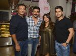 sameer dattani, aashish chaudry, rachel goneka and sameer dattani at The all new Sassy Spoon launch on 19th Oct 2016_580873f242f02.JPG