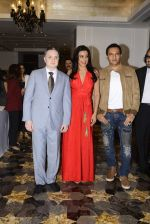 Pooja Bedi, Gautam Singhania, Marc Robinson during the launch of KamaSutra Honeymoon Surprise Pack on 21st Oct 2016 (12)_580b5d43e1304.JPG