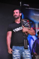John Abraham at WWE Live India in Inorbit Mall on 22nd Oct 2016