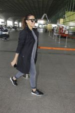 Neha Dhupia snapped at airport on 22nd Oct 2016