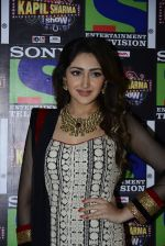 Sayesha Saigal promote Shivaay on the sets of The Kapil Sharma Show on 22nd Oct 2016 (149)_580c61cf63206.JPG