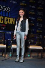 Abigail Eames with Shivaay team at Mumbai Comic Con on 23rd Oct 2016 (48)_580db3c766325.JPG