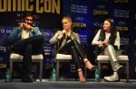 Ajay Devgan, Erika Kaar, Abigail Eames with Shivaay team at Mumbai Comic Con on 23rd Oct 2016 (27)_580db3cab8918.JPG