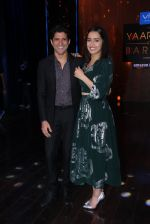 Shraddha Kapoor and Farhan Akhtar promote Rock On 2 on the sets of Yaaron Ki Baraat Show on Zee Tv on 23rd Oct 2016 (71)_580db21f15a96.JPG