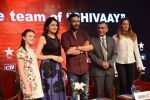 Ajay Devgan, Sayesha Saigal, Erika Kaar, Abigail Eames at Shivaay promotions in Delhi on 25th Oct 2016 (46)_5810b27c3330c.JPG