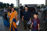 Kailash Kher snapped at airport on 25th Oct 2016 (33)_58104ee68c3da.JPG