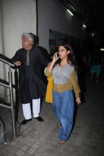 Zoya Akhtar, Javed Akhtar at Ae Dil Hai Mushkil screening on 25th Oct 2016 (6)_5810b73283348.JPG