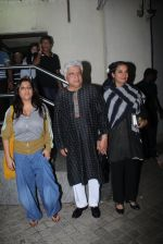 Zoya Akhtar, Javed Akhtar, Shabana Azmi at Ae Dil Hai Mushkil screening on 25th Oct 2016 (18)_5810b7344d49b.JPG