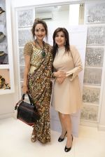 Madhoo Shah at the launch of a new jewellery line of designer Paulomi Sanghavi in Mumbai on 27th Oct 2016 (85)_58131a391e54e.JPG