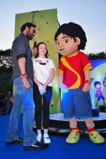 Ajay Devgan, Abigail Eames promotes Shivaay on 29th Oct 2016 (44)_58172d625b05f.JPG