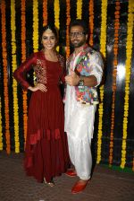 Asha Negi, Ritvik Dhanjani at Ekta Kapoor_s Diwali bash on 29th Oct 2016 (196)_5817385821d94.JPG