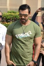 John Abraham at Force 2 promotions on 3rd Nov 2016