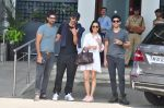 Purab Kohli, Arjun Rampal, Shraddha Kapoor, Farhan Akhtar snapped with Rock On 2 Team on 2nd Nov 2016 (61)_581b449f118d3.JPG