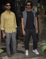 Arjun Rampal, Purab Kohli with Rock On 2 team snapped in Mumbai on 3rd Nov 2016 (25)_581c2e4871d98.JPG