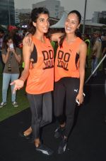 Anushka Manchanda at guiness record for PUMA on 6th Nov 2016 (87)_582091775719e.JPG