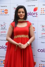 Jigyasa Singh aka Thapki at a press meet as COLORS joins hands with Laadli_58247ff110934.JPG