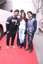 John Abraham, Sonakshi Sinha, Tahir Raj Bhasin with Cast of Force 2 spotted at Mehboob Studio in Bandra on 9th Nov 2016 (45)_58247b1d5cdc0.JPG