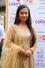 Meera Deosthale aka Chakor at a press meet as COLORS joins hands with Laadli_58247fbb5db3c.JPG