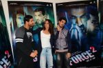 Sonakshi Sinha, John Abraham, Tahir Bhasin with Cast of Force 2 spotted at Mehboob Studio in Bandra on 9th Nov 2016 (1)_58240c0f2a1fa.jpg