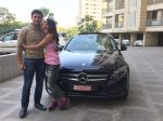 Wrestler Sangram Singh surprises ladylove Payal Rohtagi with a Mercedes (3)_58247f1f3a16c.JPG