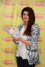 Twinkle Khanna at Radio Mirchi 98.3 Studio on 14th Nov 2016
