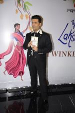 Karan Johar at Twinkle Khanna_s book launch in J W Marriott, Mumbai on 15th Nov 2016 (18)_582c10481ab12.JPG