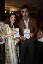 Ranbir Kapoor at Twinkle Khanna_s book launch in J W Marriott, Mumbai on 15th Nov 2016 (42)_582c107491ddd.JPG