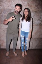 John Abraham with wife Priya Runchal at Force 2 screening in Lightbox on 17th Nov 2016 (43)_582ea745edbf9.JPG