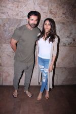 John Abraham with wife Priya Runchal at Force 2 screening in Lightbox on 17th Nov 2016 (30)_582ea73de7350.JPG