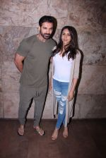 John Abraham with wife Priya Runchal at Force 2 screening in Lightbox on 17th Nov 2016 (31)_582ea73e8368e.JPG