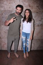 John Abraham with wife Priya Runchal at Force 2 screening in Lightbox on 17th Nov 2016 (42)_582ea74534fe4.JPG