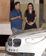 Kehkashan Patel at Arpita Khan anniversary bash in Mumbai on 17th Nov 2016 (54)_582ea47634a9a.jpg