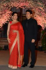 Madhuri Dixit, Sriram Nene at Wedding reception of stylist Shaina Nath daughter of Rakesh Nath on 17th Nov 2016 (79)_582eac7b50792.JPG
