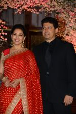 Madhuri Dixit, Sriram Nene at Wedding reception of stylist Shaina Nath daughter of Rakesh Nath on 17th Nov 2016 (87)_582eac7da3c28.JPG