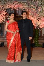 Madhuri Dixit, Sriram Nene at Wedding reception of stylist Shaina Nath daughter of Rakesh Nath on 17th Nov 2016 (78)_582eacaf03147.JPG