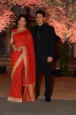 Madhuri Dixit, Sriram Nene at Wedding reception of stylist Shaina Nath daughter of Rakesh Nath on 17th Nov 2016 (86)_582eacb149c65.JPG