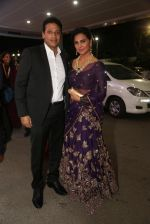 Lara Dutta at anam mirza and akbar rasheed wedding reception on 18th Nov 2016  (1)_583066d00eb46.JPG