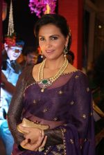 Lara Dutta at anam mirza and akbar rasheed wedding reception on 18th Nov 2016  (14)_583066d9a895f.JPG