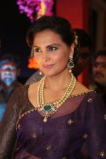 Lara Dutta at anam mirza and akbar rasheed wedding reception on 18th Nov 2016  (19)_583066dceb251.JPG
