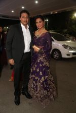 Lara Dutta at anam mirza and akbar rasheed wedding reception on 18th Nov 2016  (2)_583066d0cddb4.JPG