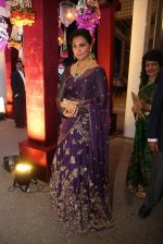 Lara Dutta at anam mirza and akbar rasheed wedding reception on 18th Nov 2016  (7)_583066d48a3a7.JPG