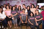 Anusha Dandekar and Milind Soman at Pinkathon press meet on 22nd Nov 2016